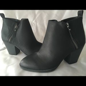 Double Zipper Boots